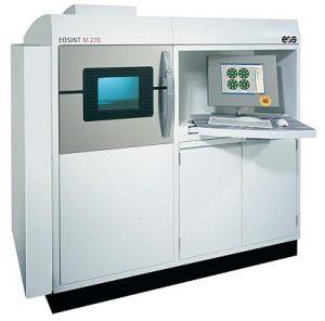 EOSINT M270 DMLS technológiájú fém 3D nyomtató 3D fémnyomtatás