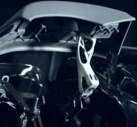 BMW i8 3D nyomtatott alkatrész - 3D fémnyomtatás
