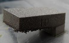 3D fémnyomtatás - példa a felületi minőség romlására