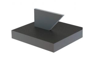 3D fémynomtatás - ferde felületek nyomtatása
