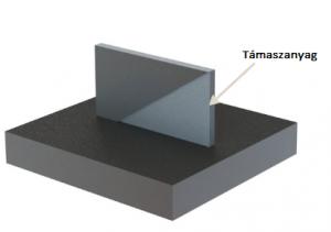 3D fémnyomtatás - ferde felület támaszanyaggal