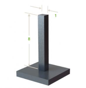 3D fémnyomtatás - keresztmetszet, magasság aránya