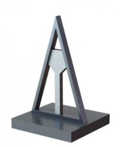 3D fémnyomtatás - merevítés támaszanyaggal